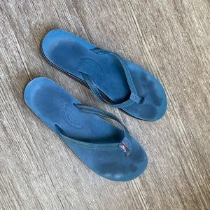 Blue Rainbow Sandals